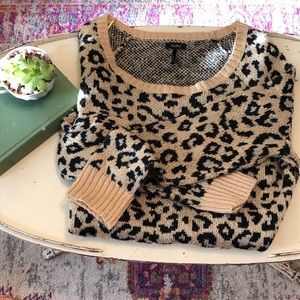 Boho Leopard Sweater
